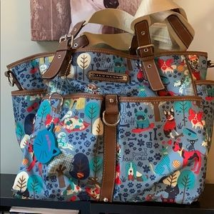 """Lily Bloom """"Who Let The Dogs Out"""" Tote Bag"""